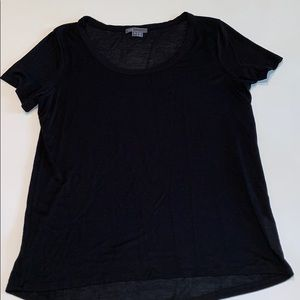 VINCE swing t-shirt, black, size Small